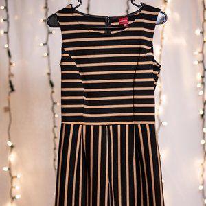 A Line Striped Dress